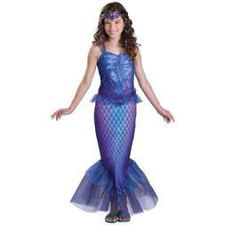 Girls Mermaid Costume Kids & Tween Halloween Fancy Dress