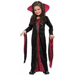 Girls Vampire Costume Kids Halloween Fancy Dress