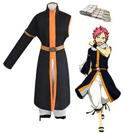 GK-O Fairy Tail Costume Natsu Dragneel 3rd Ver Cosplay Hallo