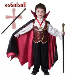 Spooktacular Creations Gothic Vampire Costume Boys Deluxe Se