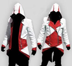 Halloween Cosplay Mens Hoodie Jackets Halloween Costume Coat