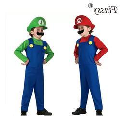 Halloween <font><b>Costumes</b></font> Funny Super Mario Lui