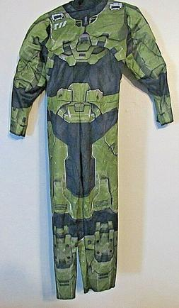 HALO Master Chief Halloween Costume Kids Padded Jumpsuit & M