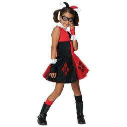 Harley Quinn Costume for Kids & Toddler Female Villain Hallo