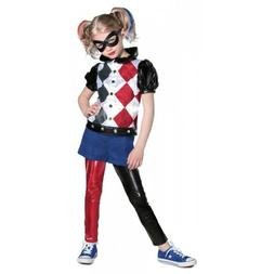 Harley Quinn Costume Kids Halloween Fancy Dress