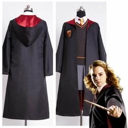Hermione Granger Gryffindor Uniform Halloween Cosplay Costum