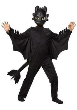How to Train Your Dragon Toothless Classic size M 7/8 Kids C