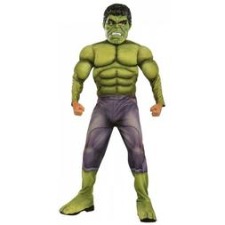 Hulk Costume Kids Marvel Avengers Halloween Fancy Dress