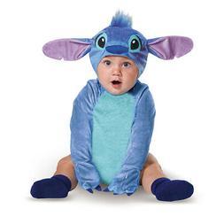 Infant Disney Classic Stitch Alien Costume size 6-12 Months
