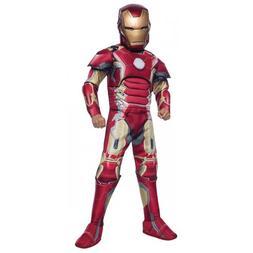 Iron Man Costume Kids Halloween Fancy Dress