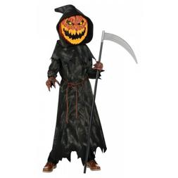 jack o lantern costume kids pumpkin reaper