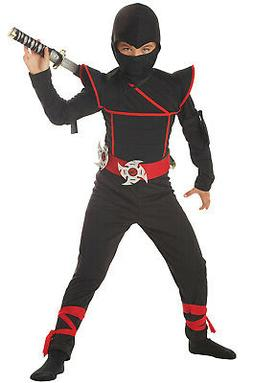 Japanese Stealth Special Ops Ninja Child Halloween Costume