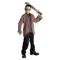 Jason Costume Kids Friday The 13th Scary Halloween Fancy Dre