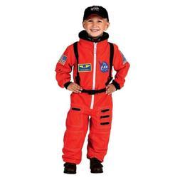 Aeromax Jr. Astronaut Suit Kids Costume w/ Cap and NASA patc
