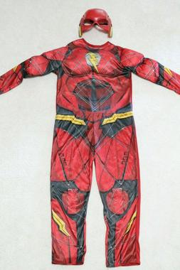 Justice League The Flash Muscle Child Costume Jumpsuit Prete
