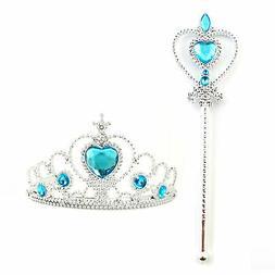 Princess Elsa Frozen Cosplay Accessories Kids Girl Halloween