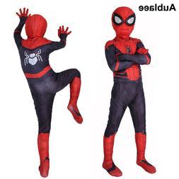 Kid Boy Spider-Man Far From Home Child Superhero Halloween P