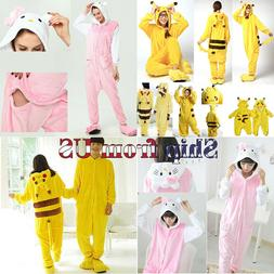 Kids Boy Girl Adult Costume Cosplay Kigurumi Pajamas Animal