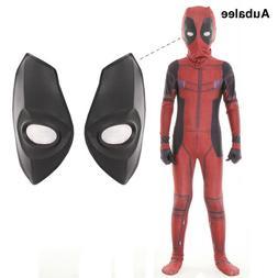 Kids Boys Deadpool Cosplay Costume Superhero Full Body Zenta