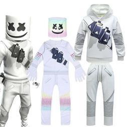 Kids Boys Marshmallow Costume Cosplay Bar Club Fancy Dress P
