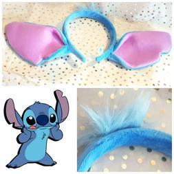 kids DISNEY ears Lilo & stitch Headband Costume large stitch