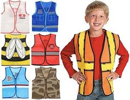 Kids Dressup Set #1 with 7 Costume Vests