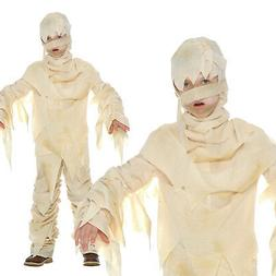 Kids Egyptian Mummy Costume For Boys or Girls Historical Hal