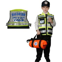 EMT Costume For Kids - Authentic Paramedic Set By Dress Up A