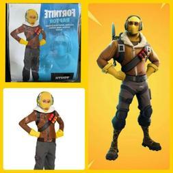 Kids FORTNITE Raptor Costume - Size M - NEW for 2020 Boys Ha