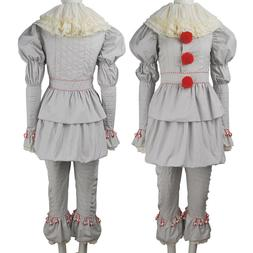 Kids girl Pennywise the Dancing Clown cosplay halloween cost
