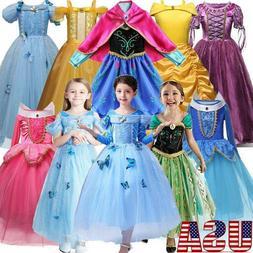 kids girls princess fairytale dress up costume