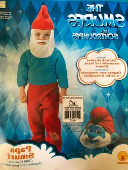 Kids Halloween Costume for Boys The Smurfs Papa Smurf Outfit