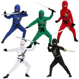 Kids Ninja Costume Ninjago Halloween Fancy Dress