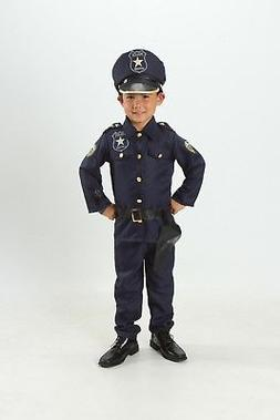 Kids Police officer Costume set Cop Light up Boys/Girls Size