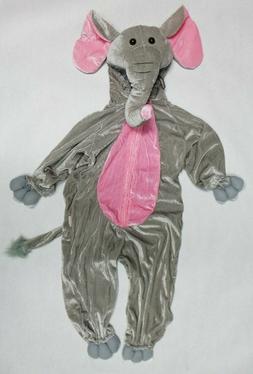 Kids' Safari Dress Up Elephant Animal Hoodie Pajama Costume