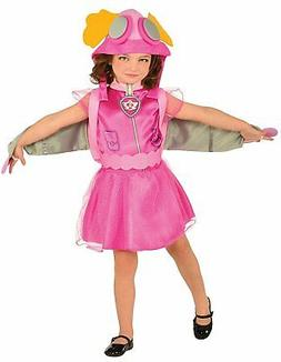 Kids Skye Paw Patrol Costume Halloween Girls Youth Pup Pack