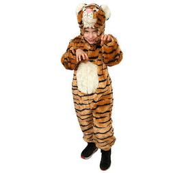 Kid's striped Tiger Costume By Dress Up America