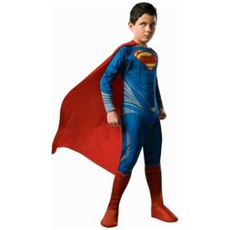 Kids Superman Costume Halloween Fancy Dress