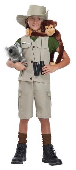 Kids Wild Life Expert Archaeologist Park Ranger Zoo Keeper H