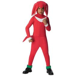 Knuckles Costume Kids Sonic the Hedgehog Halloween Fancy Dre