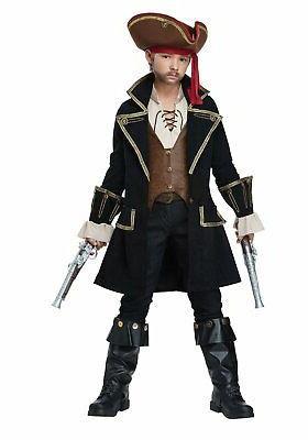 00527 child deluxe pirate captain