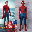 2017 Spider-Man Homecoming Costume Cosplay Spiderman Kids Ze