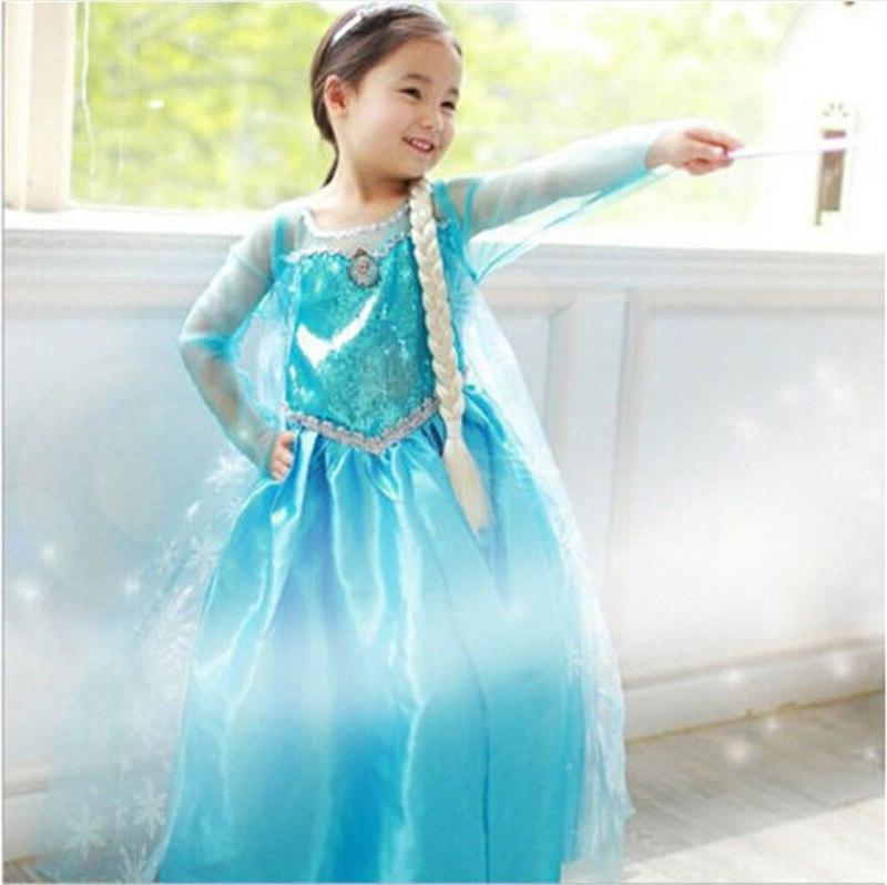 2019 New Girls <font><b>Dress</b></font> Princess <font><b>Dress</b></font> party Gown Cosplay Tulle 3-8Y