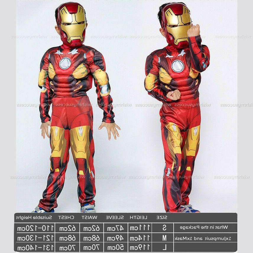 2020 Avengers Iron Man Cosplay Halloween Jumpsuit