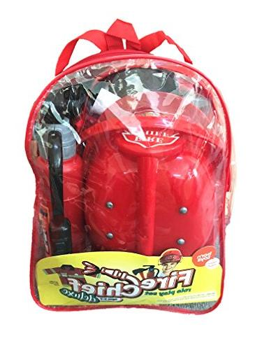 Born Premium Washable Costume and with Real Shooting Extinguisher Great Boys and Girls