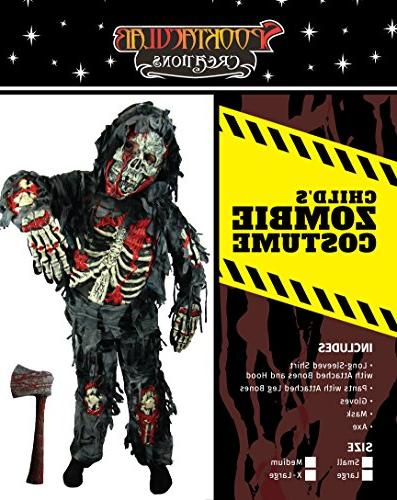 Spooktacular Creations Zombie Costume Bloody Axe