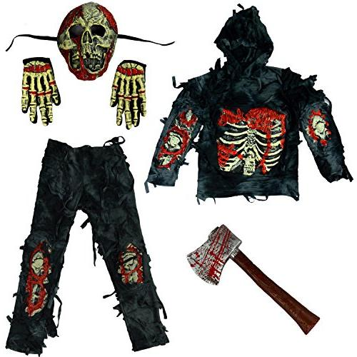 Spooktacular Zombie Costume Bloody