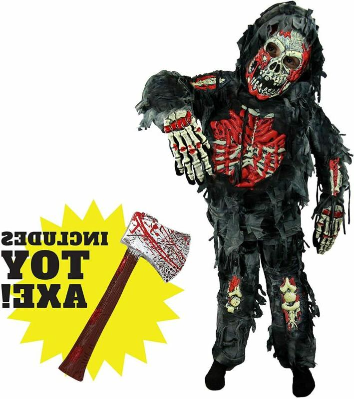 Spooktacular Creations Zombie Deluxe Costume for Child with