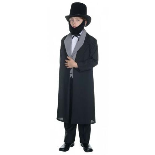 abraham lincoln costume kids