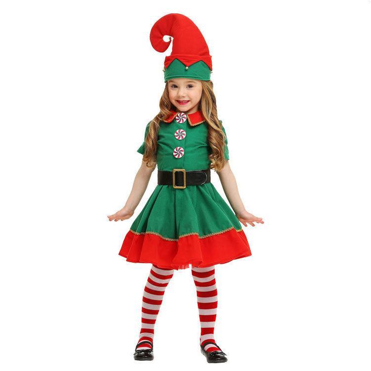 adult men and women christmas elf cosplay